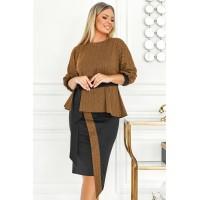 Модный костюм юбка и кофта Евгения